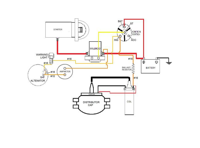 Farmall M Wiring Diagram Yesterdays Tractors on 8n voltage regulator wiring