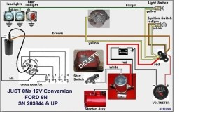 1952 Ford 8n Wiring Diagram  Wiring Diagram Pictures