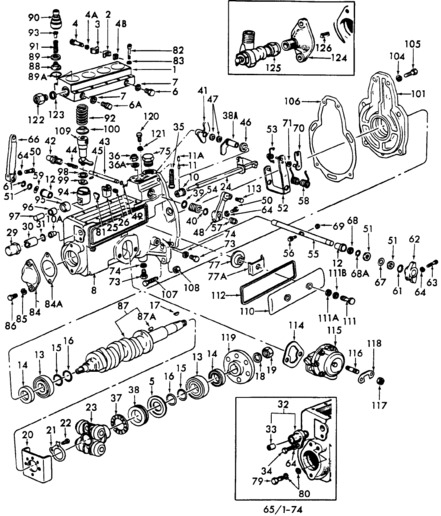 Diesel Cav Pump Manual Injection