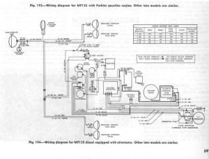 Mf 135 Wiring Diagram | Wiring Schematic Diagram
