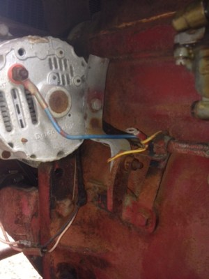 Wiring on a Farmall 140 12v Conversion  Farmall