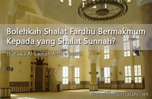 Bermakmum Kepada Yang Shalat Sunnah
