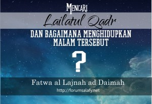 mencari lailatul qadr