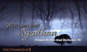 Was-was dari syaithan