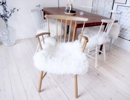 sheepskin-chair