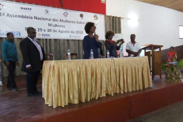 """1ª Assembleia Nacional das Mulheres  """"Sobre o processo eleitoral"""""""