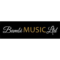 bambimusic logo and website by forward-designs.co.uk