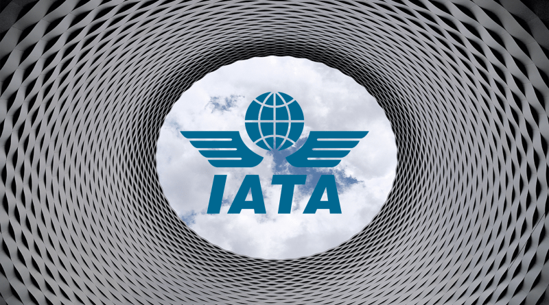 IATA logo in Sky