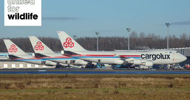 Cargolux United for Wildlife