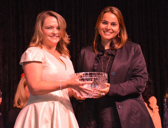 Woman on the Move Honoree  Amy Lynn McGuire