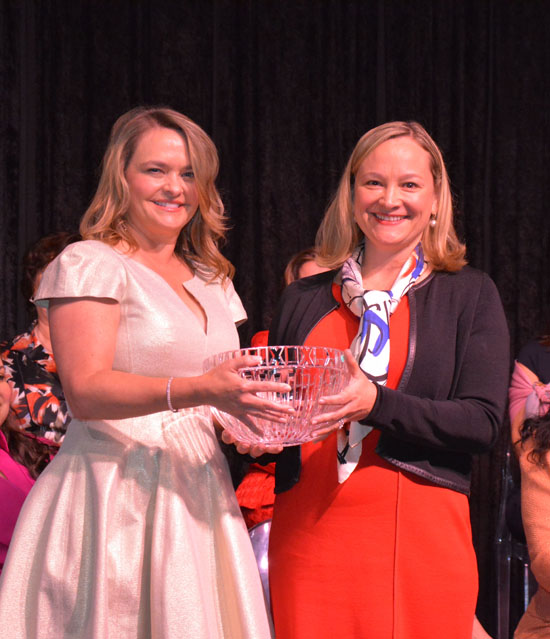 Woman on the Move  Honoree Laura Robertson
