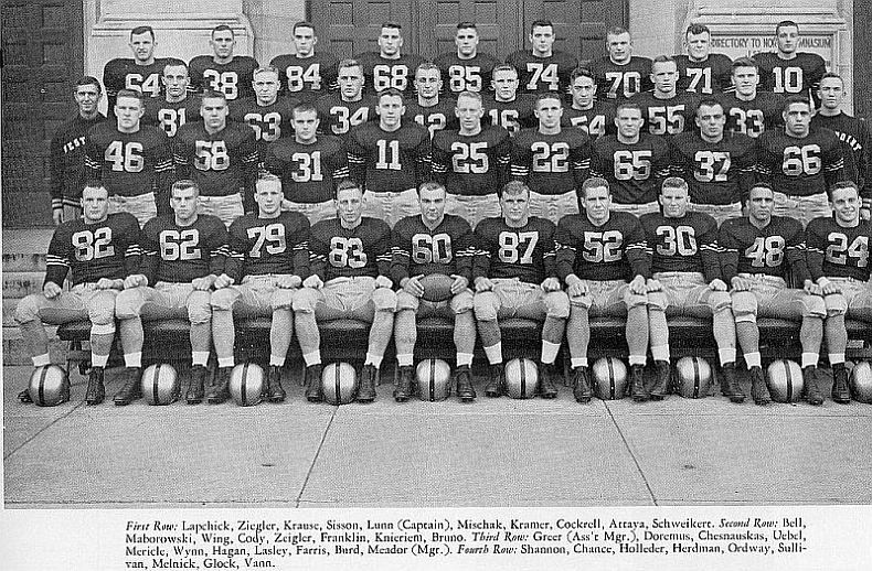 High Point Lacrosse >> 1953 Football Team « For What They Gave on Saturday Afternoon