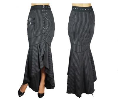 Blueberry HIll striped skirt