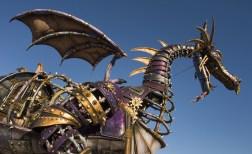 Steampunk Malificent dragon by Disney