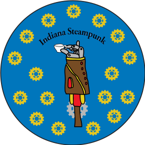 Indiana Steampunk Society Pin Contest entry (2015)