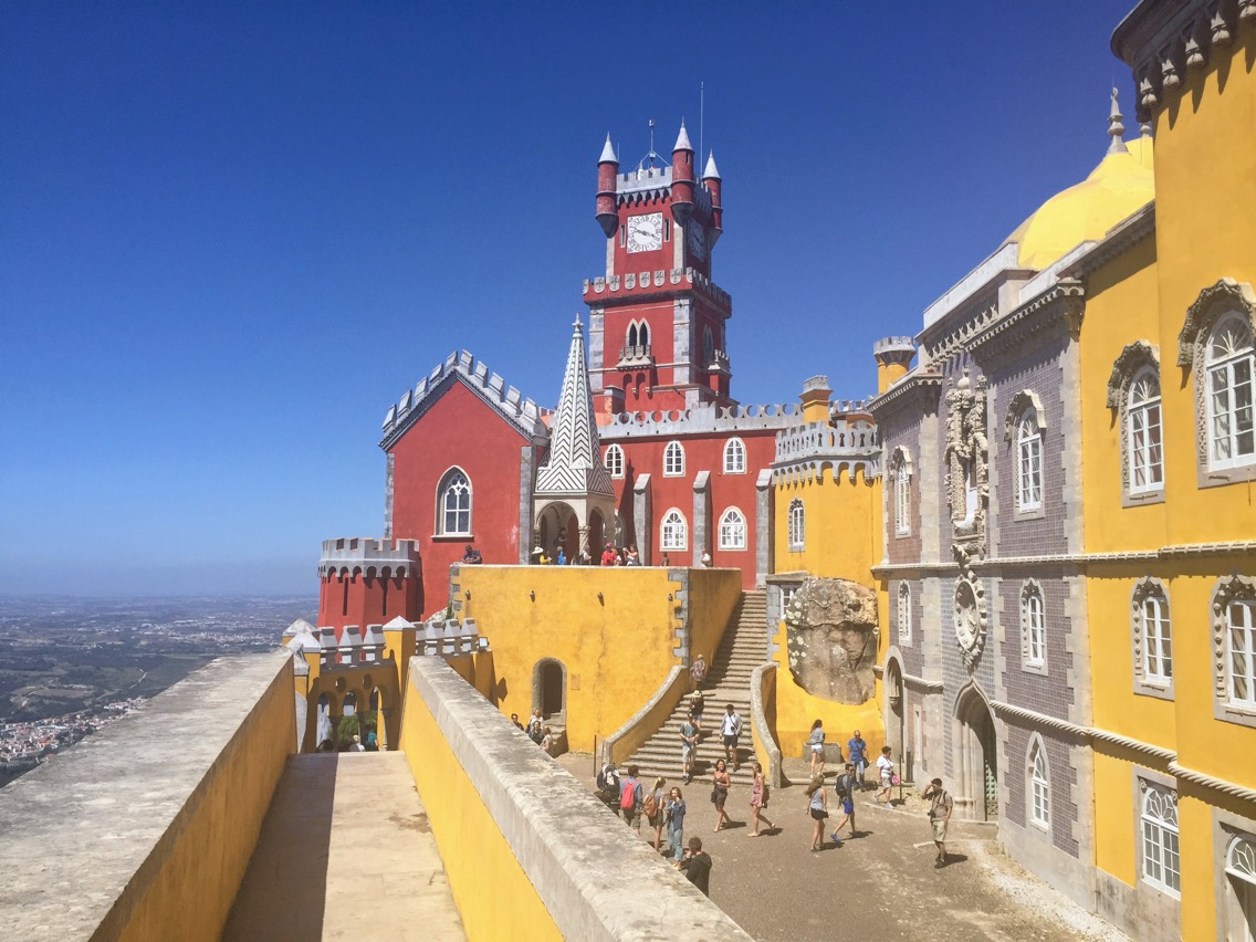 Portugal Wine Travel Guide. Sintra, Pena Palace