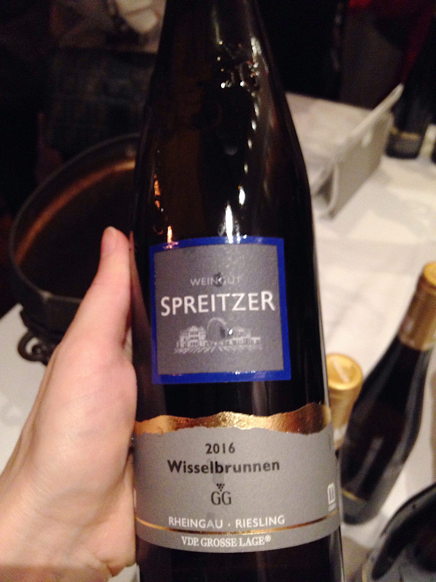 Spreitzer, Rheingau