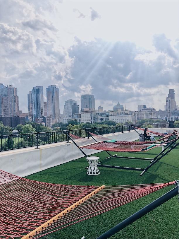 Rooftop Reds. Hammock Area