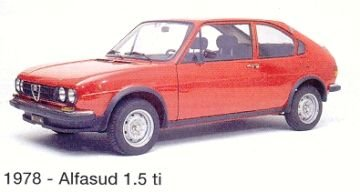 Alfasud 1.5 Ti 1978