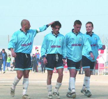 una foto dell'Ariano 2002/03, anno del ritorno in Serie D
