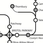 schematic rail map showing thornbury branch line