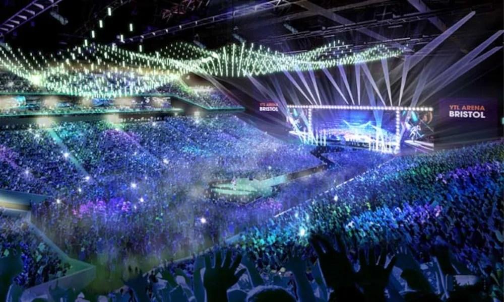Proposed YTL Arena Bristol