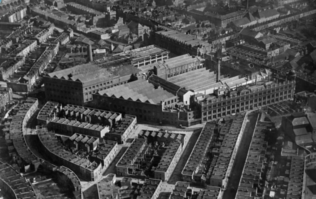 Factory Number One as it was in 1921 (c) Historic England