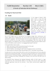 Front page of Newsletter 105