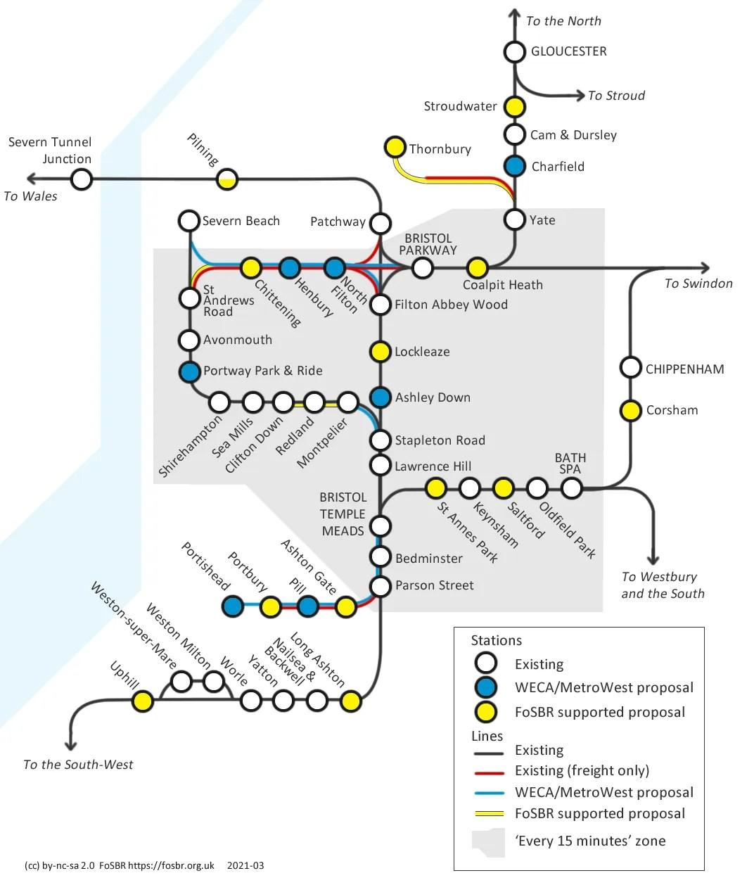 FoSBR Plan for Rail Map