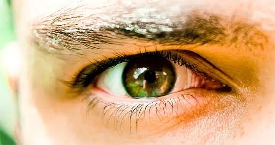 Close-up de um olho