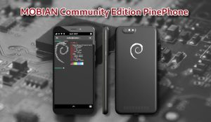 Mobian Community Edition PinePhone