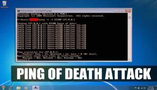 PING OF DEATH ATTACK