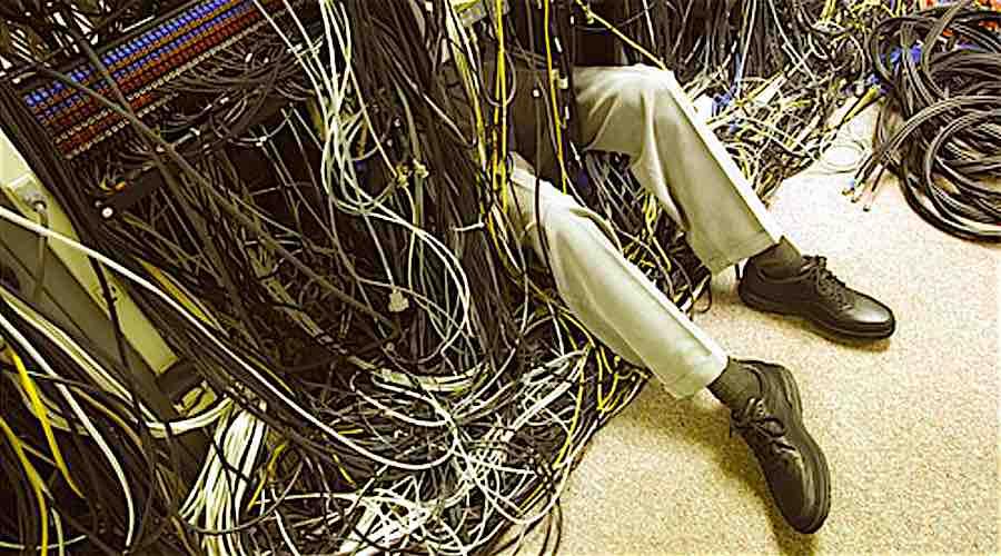 engineer breaks internet