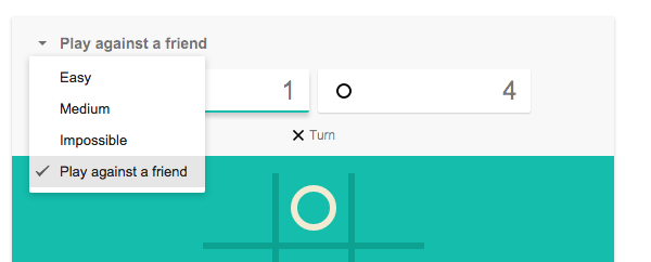 how to play tic tac toe google search