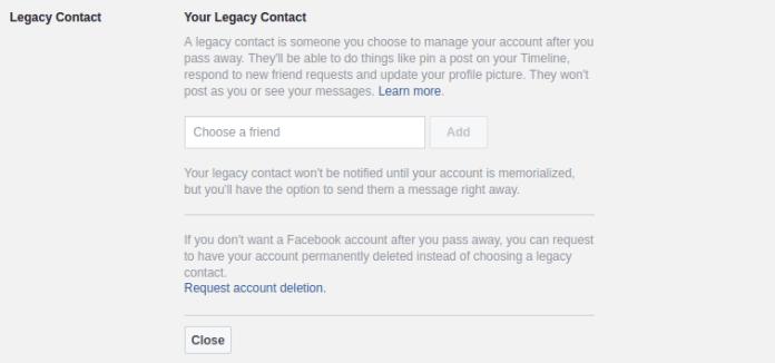 Cara Otomatis Menghapus Akun Facebook Anda Setelah Anda Meninggal