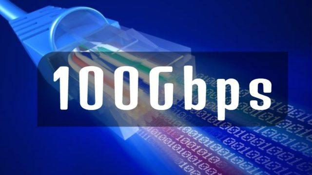 100gbps speed internet