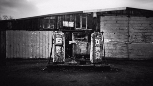 myths petrol station