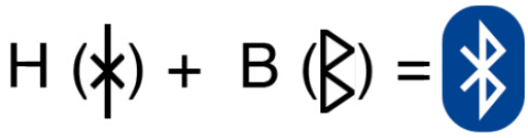 bluetooth logo origin