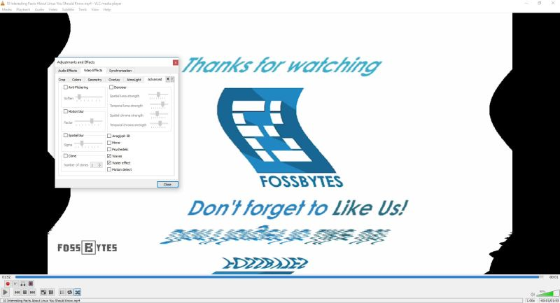 AudioVideoEffects-VLC Tricks