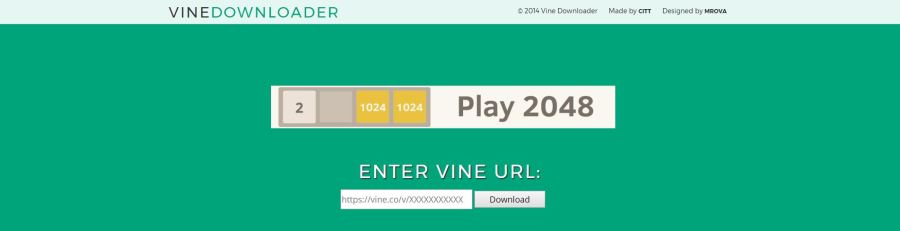 VineDownloader Download Vine Videos