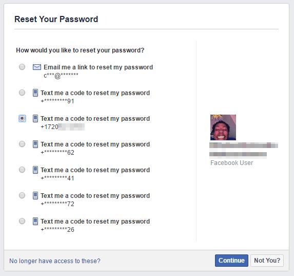 facebook phone number hack 3