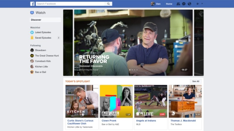 facebook streaming service 2