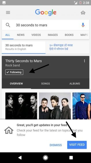 google feed how to use