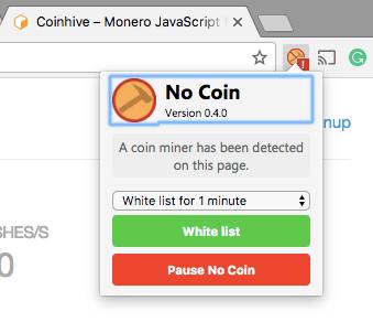 5 Cara Mudah Blokir Penambang Coin Cryptocurrency Di Browser Web Anda
