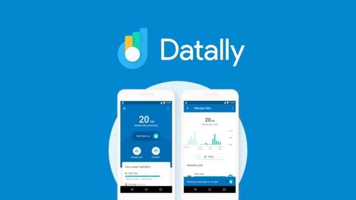 Datally aplikacija