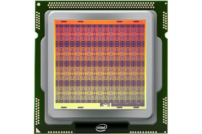 "Chip riset neuromorfis Intel Corporation yang self-learning, diberi kode bernama ""Loihi."" (Kredit: Intel Corporation)"