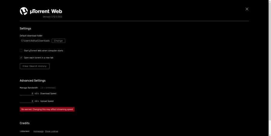 uTorrent Web Download Torrents 2