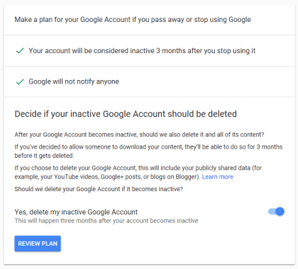 Delete Google Account After Death 6