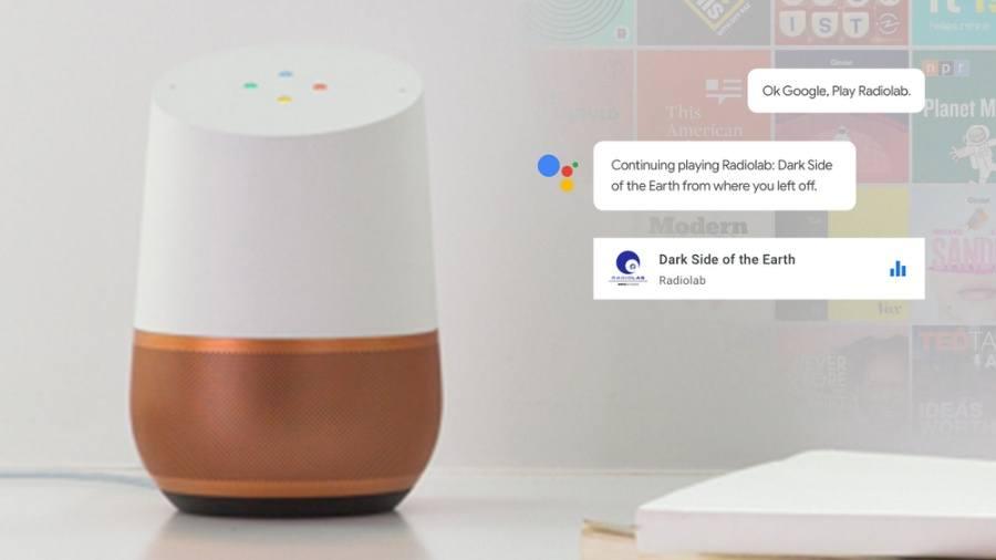 Aplikasi Google Home Podcast