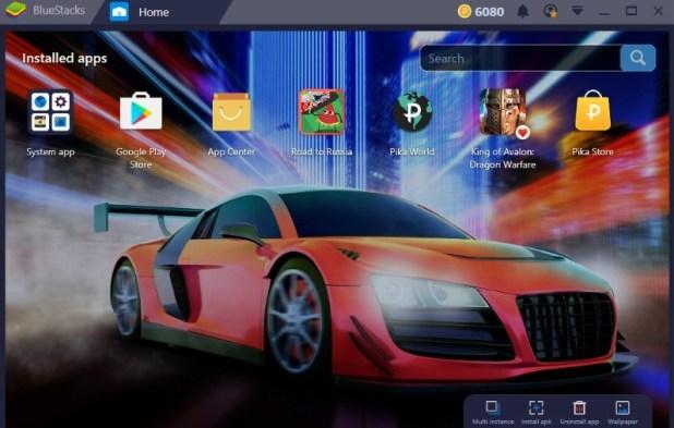 Top Android Emulator - BlueStacks